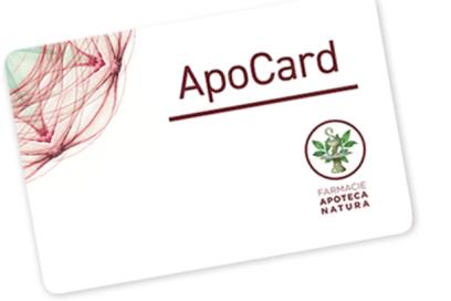 ApoCard: la Carta Fedeltà integrata in Apoteca Natura CheckApp!